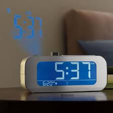 light projection alarm clock 10 most creative alarm clocks for heavy sleepers high quality