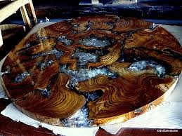 epoxy table top resin epoxy resin reclaimed teak wood coffee tables indogemstone