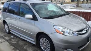 toyota on sale used toyota wheelchair vans for sale blvd com