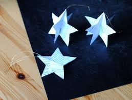 Homemade Christmas Decorations With Paper 5 Festive Christmas Ornaments You Can Make From Recycled Paper