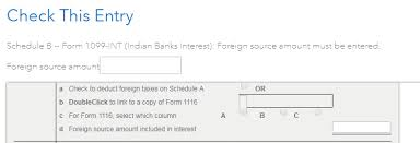 what is meant by foreign source amount included in interest on