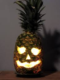 pineapple jack o lantern halloween pinterest halloween ideas