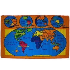 Area Rug Kids by Amazon Com Kids Rug World Map Area Rug 5 U0027 X 7 U0027 Children Area Rug