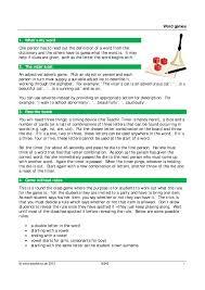 ks3 word games teachit english