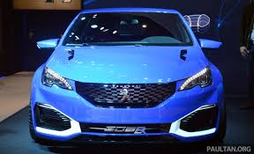 peugeot cars 2015 gallery peugeot 308 r hybrid at shanghai 2015
