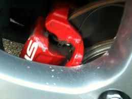 lexus rx300 brake pads and rotors venza rim u0026 ate rotor hits the caliper clublexus lexus forum