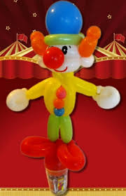 clown balloon l centerpieces
