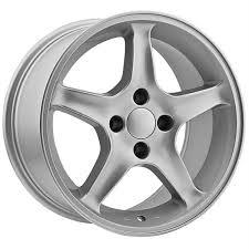 mustang replica wheels 17 inch ford mustang replica wheels 4 lug 4x108 silver ebay
