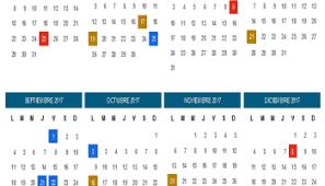 Calendario 2018 Argentina Ministerio Interior Algunos Calendarios 2017 Predefinidos Para Jefaturas Regionales