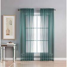 Sheer Blue Curtains Dusty Blue Curtains U0026 Drapes Window Treatments The Home Depot