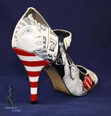 wedding shoes las vegas 26 best painted wedding shoes images on wedding