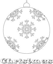 160 coloring christmas ornaments images
