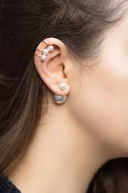 ear cuffs pearl ear cuffs style secrets