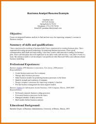 sle resume for business analyst profile resumes singular objective for business resume analyst internship mba