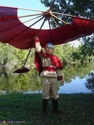 Halloween Avatar Costume Airbender Aang Avatar Costume Photo 5 9