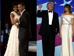 obama dresses melania vs obama fashion cost of