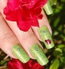 simple lovely ladybug nail art tutorial simple nail art tips