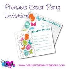 free easter invitation for easter egg hunts or easter dinner