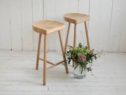 weathered oak cricket stool eastburn country furniture