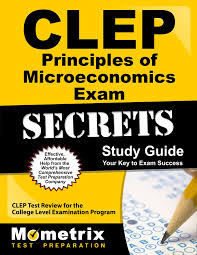 clep principles of microeconomics exam secrets study guide clep