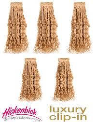 hickenbick extensions 130g curly clip in extensions hickenbick hair de