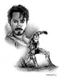 iron man movie character study by randysiplon on deviantart