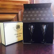 wine glass gift two wine glass gift set centenary lounge