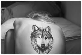 wolf head tattoo designs for on back wolf moon tattoo wolf