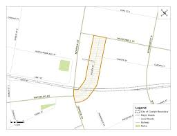 wilson street environmental assessment notice of study completion