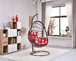 chambre osier parc chambre osier suspendus balançoire avec fer en acier stand base