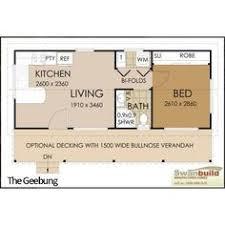 Granny Flat Floor Plans 1 Bedroom Build A Granny Flat For Less Than 10k Granny Flat Tiny Houses