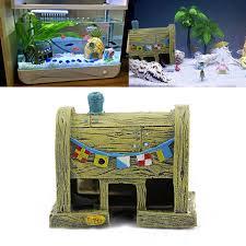 aliexpress buy mini resin comic spongebob house micro