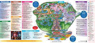 Universal Studios Map Orlando by Park Maps 2009 Photo 4 Of 4
