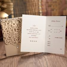 wedding wishes in korean aliexpress buy luxury korean style fantastic gold laser cut