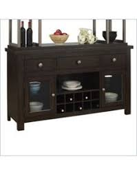 jacques classic dark cherry wood glass buffet hutch china