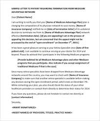 9 patient termination letter templates u2013 free sample example