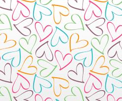 outline hearts pattern vector art u0026 graphics freevector com