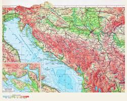 Russia Physical Map Physical Map by Large Detailed Physical Map Of Croatia In Russian Croatia Large