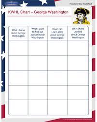 kwhl chart george washington u2013 free presidents u0027 day worksheets