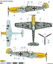 messerschmitt bf 109e 3 jg 51 color profile and paint guide