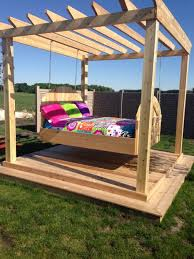 outdoor porch bed swing round fgxed cnxconsortium org outdoor
