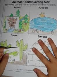 animal habitats worksheet 1 science pinterest worksheets