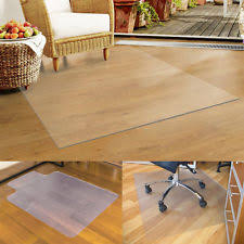Desk Mat Clear by Office Carpet Protector Ebay