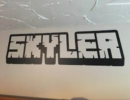 amazon com personalized gamer name decal 3d looking gamer room amazon com personalized gamer name decal 3d looking gamer room wall vinyl decal sticker handmade