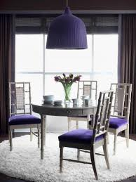 dining room unusual restaurant chairs purple dining table