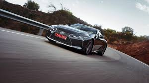 lexus lc f sport 2018 lexus lc500 and lc500h review with price horsepower and