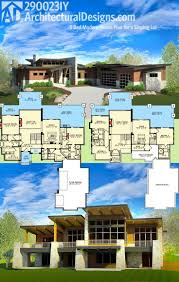 architecturaldesigns com sloping lot craftsman photo gallery luxury mountain corner lot