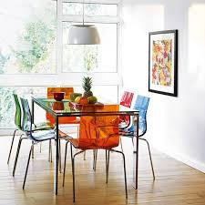 chaises cuisine couleur chaise cuisine couleur 1 idées de décoration intérieure