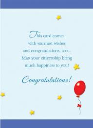 citizenship congratulations card citizenship congrats