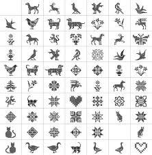 cross stitch font ornaments cross stitch great